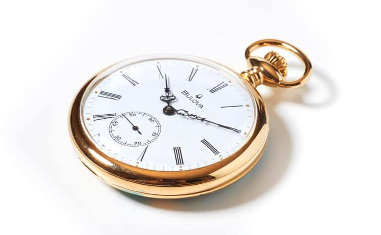 Bulova pocket watches on sale