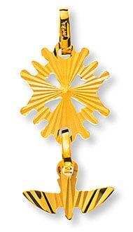 Goldiges Hugenottenkreuz Basel