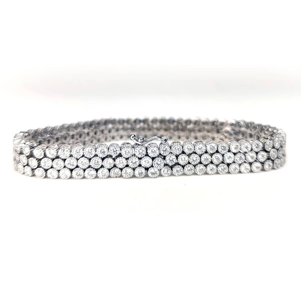 Diamant Armband in Weissgold