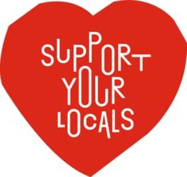 Bitte unterstützten auch Sie lokale Geschäfte