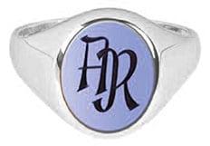 Monogramm Ring