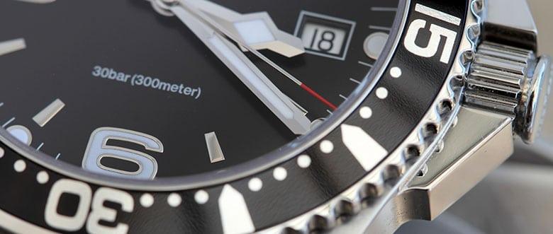 Wasserdichte Uhren Basel